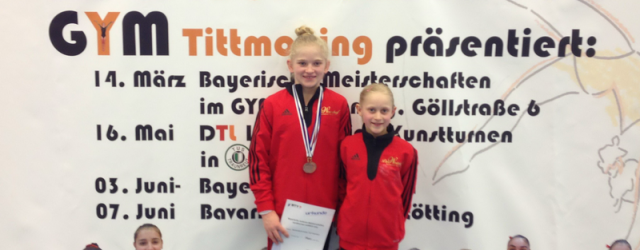 Die 24 besten Bayerischen Turnerinnen kämpfen in Tittmoning um die...