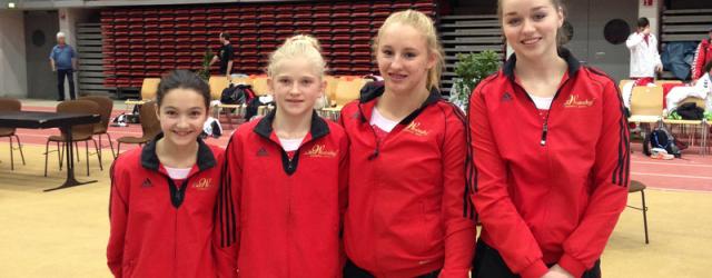 Gym Turnerinnen belegen Platz 12 Beim Auftaktwettkampf in Linz gingen...