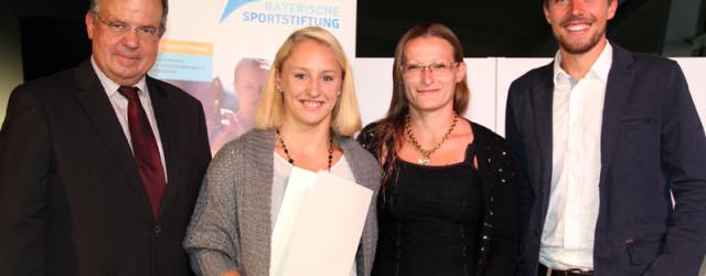 Sonja Fischer vom TuS Traunreut ausgezeichnet. München – Es ist...